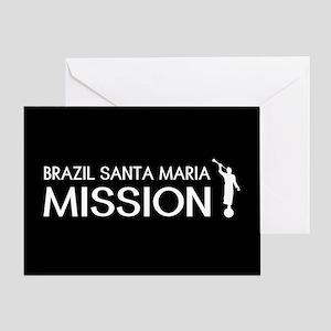 Brazil mission stationery cafepress brazil santa maria mission moroni greeting card m4hsunfo