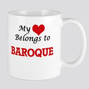 My heart belongs to Baroque Mugs