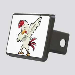 Dabbing Chicken Rectangular Hitch Cover