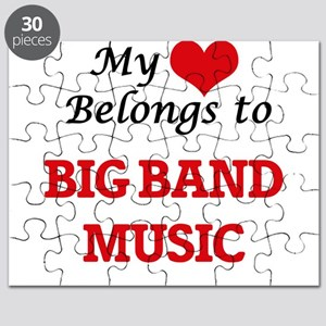 My heart belongs to Big Band Music Puzzle
