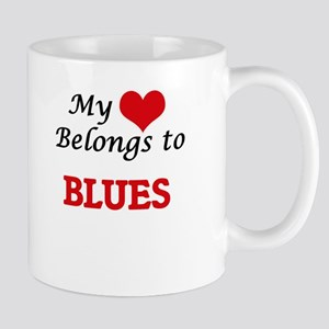 My heart belongs to Blues Mugs