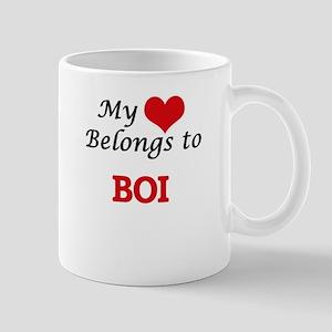 My heart belongs to Boi Mugs