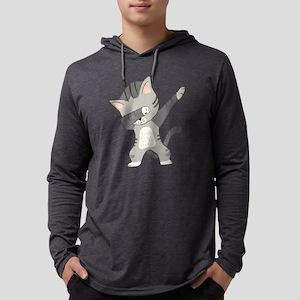 Dabbing Cat Long Sleeve T-Shirt