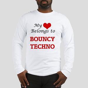 My heart belongs to Bouncy Tec Long Sleeve T-Shirt