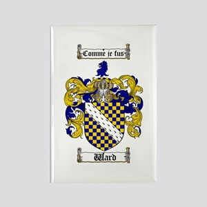 Ward Coat of Arms Rectangle Magnet