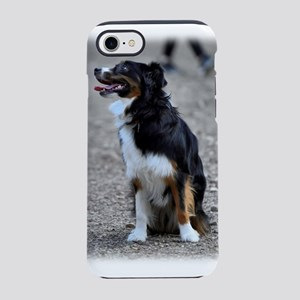 Border Collie Looking iPhone 8/7 Tough Case