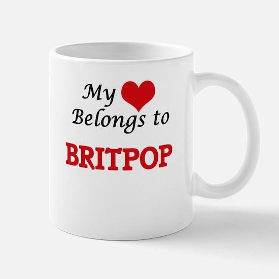My heart belongs to Britpop Mugs