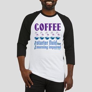 Coffee Starter Fluid Baseball Jersey