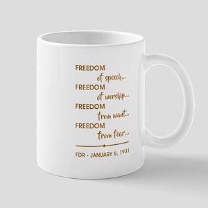 FREEDOM OF... Mug