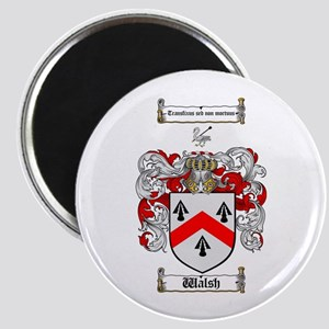 """Walsh Coat of Arms 2.25"""" Magnet (10 pack)"""