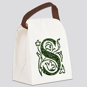 Ivy Monogram S - Canvas Lunch Bag
