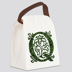 Ivy Monogram Q Canvas Lunch Bag