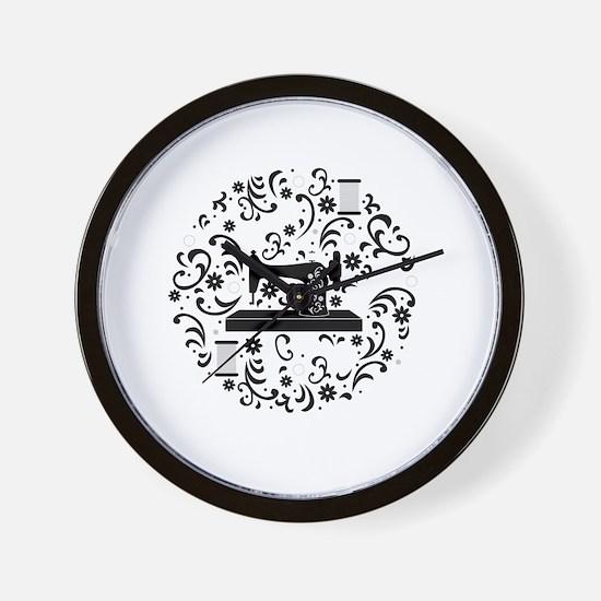 Unique Sewing Wall Clock
