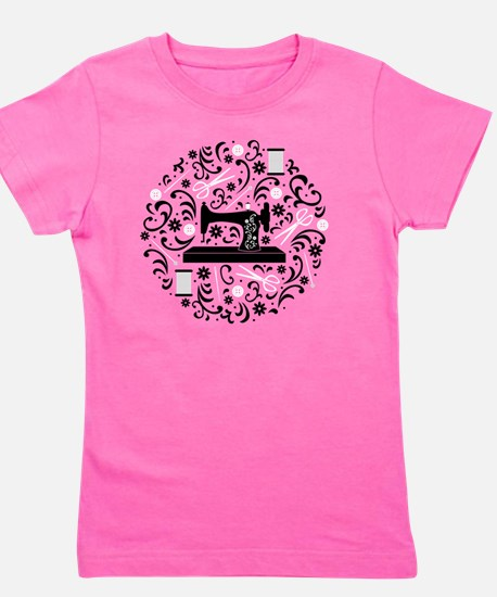 Cute Crafts Girl's Tee