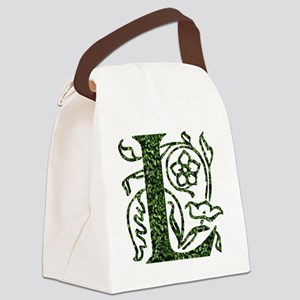 Ivy Monogram L - Canvas Lunch Bag