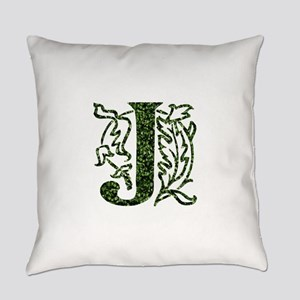 Ivy Monogram J - Everyday Pillow