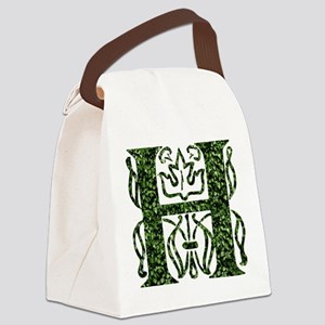 Ivy Monogram H - Canvas Lunch Bag