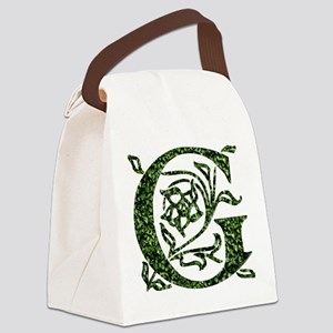 Ivy Monogram G - Canvas Lunch Bag