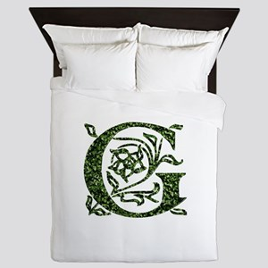 Ivy Monogram G - Queen Duvet