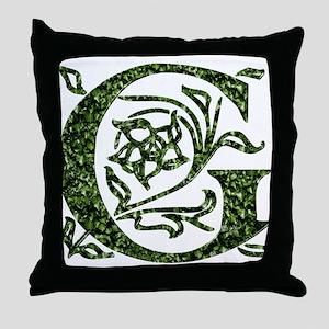 Ivy Monogram G - Throw Pillow
