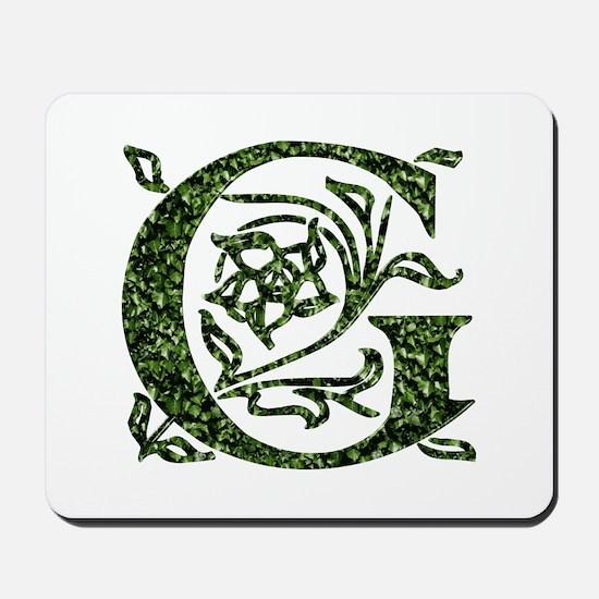 Ivy Monogram G - Mousepad