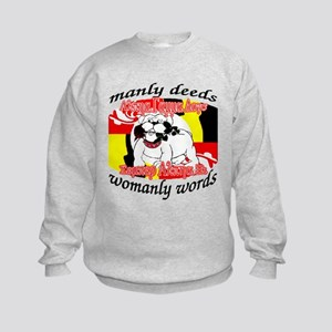 Alpha Gamma Dogs - Semper Alp Kids Sweatshirt
