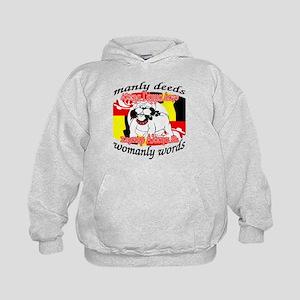 Alpha Gamma Dogs - Semper Alp Kids Hoodie