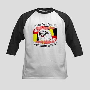 Alpha Gamma Dogs - Semper Alp Kids Baseball Jersey