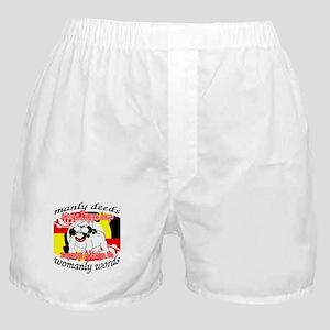 Alpha Gamma Dogs - Semper Alp Boxer Shorts