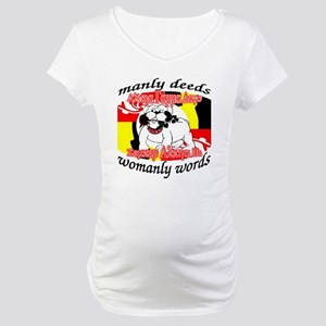 Alpha Gamma Dogs - Semper Alp Maternity T-Shirt