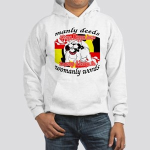 Alpha Gamma Dogs - Semper Alp Hooded Sweatshirt
