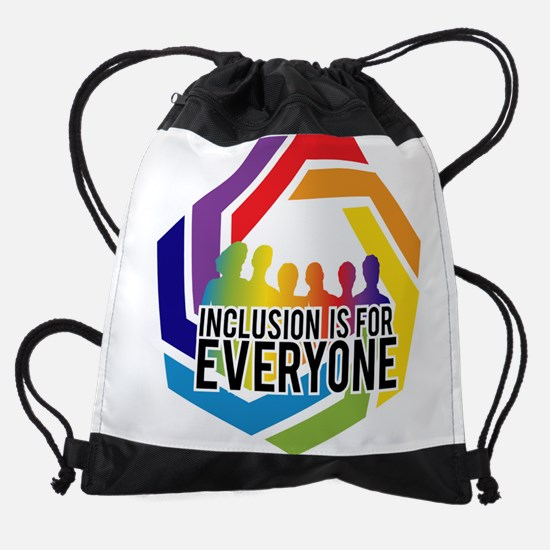 Inclusion Is For Everyone Drawstring Bag