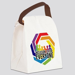 Inclusion Is For Everyone Canvas Lunch Bag