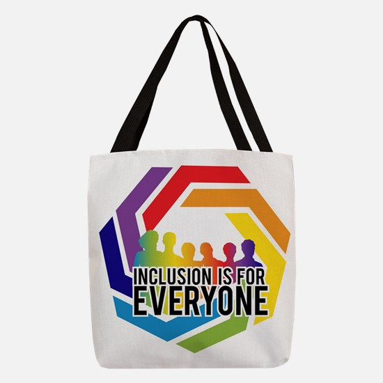 Inclusion Is For Everyone Polyester Tote Bag