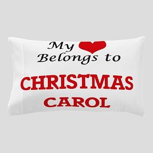 My heart belongs to Christmas Carol Pillow Case