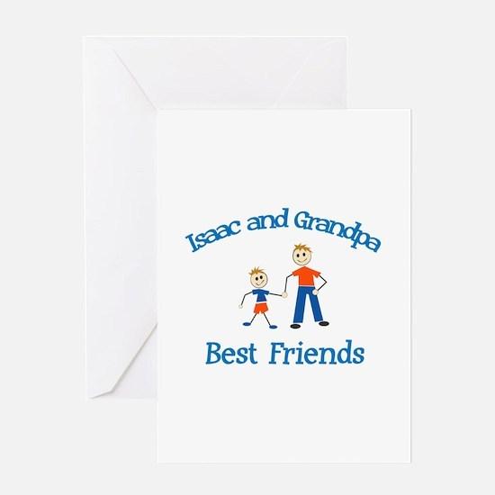 Isaac & Grandpa - Best Friend Greeting Card
