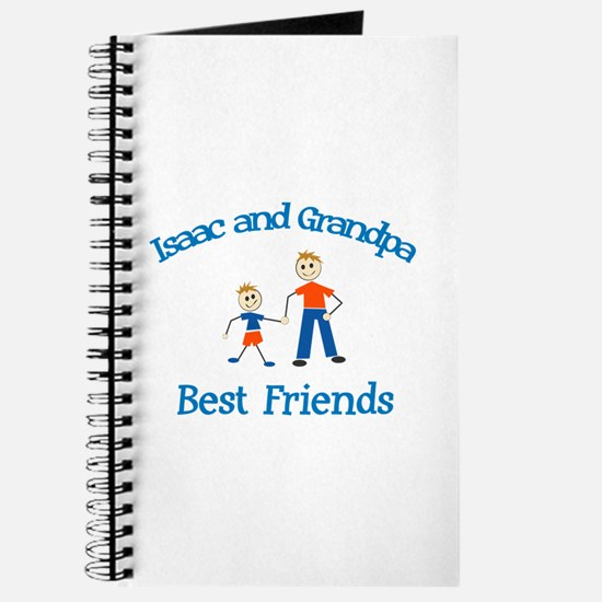 Isaac & Grandpa - Best Friend Journal