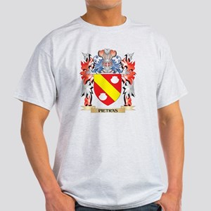 Pietras Coat of Arms - Family Crest T-Shirt