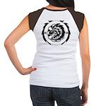 Tribal Wolf Junior's Cap Sleeve T-Shirt
