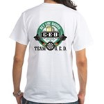 Team G.E.D. White T-Shirt