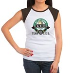 Team G.E.D. Junior's Cap Sleeve T-Shirt