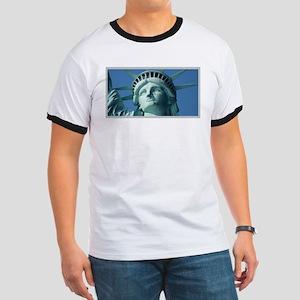 Lady Liberty Ringer T