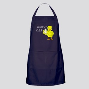 Weather Chick Text Sun Apron (dark)