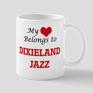 My heart belongs to Dixieland Jazz Mugs