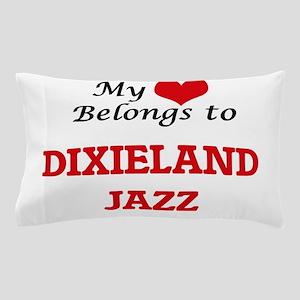 My heart belongs to Dixieland Jazz Pillow Case