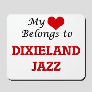 My heart belongs to Dixieland Jazz Mousepad