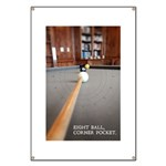 Eight Ball Corner Pocket Banner