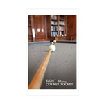 Eight Ball Corner Pocket Sticker