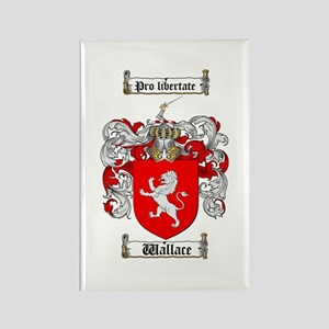 Wallace Coat of Arms Rectangle Magnet (10 pack)