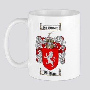 Wallace Coat of Arms Mug